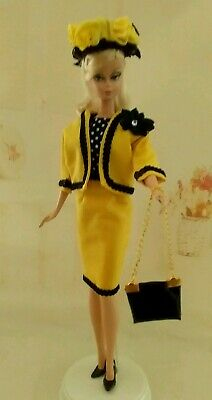 Ooak Barbie Silkstone Outfit With Accessories