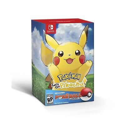 Pokemon Lets Go Pikachu + Pokeball Plus Neuwertig & OVP! Nintendo Switch Deutsch