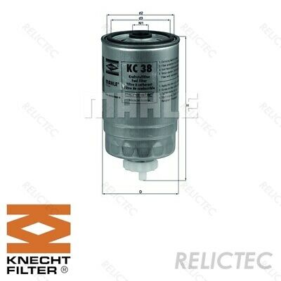 Fuel Filter Ford Fiat Citroen Peugeot VW Lancia Vauxhall Land Rover Iveco