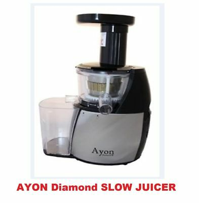 Brand New Ayon Diamond Cold Press Slow Juicer Processor Extractor