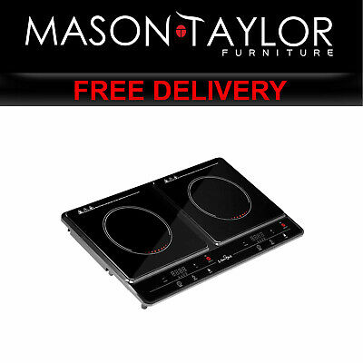 MT 5 Star Chef Ceramic Electric Induction Cook Top Stove  - Black CT-IN-213-1 AU