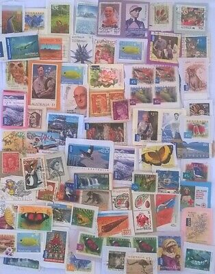 AUSTRALIA:75 grams mix Kiloware Stamps (about 350-400 Stamps)!!