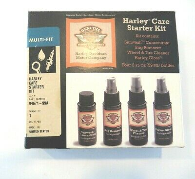 HARLEY DAVIDSON MOTOR Cleaning Accessories Care Starter Kit (n)