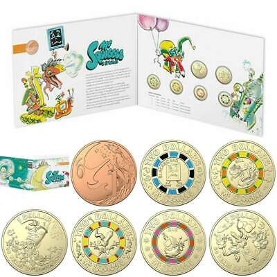 2019 Mr Squiggle and Friends Seven Coin Collection Set (express post)