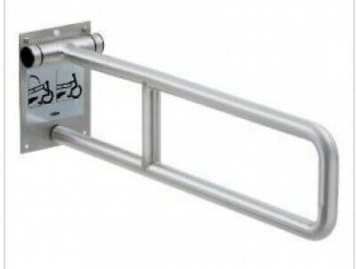 New Bobrick Stainless Steel Swing-Up Grab Bar
