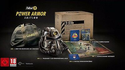 Fallout 76 - Power Armor Collectors Edition - PS4 - NEU & OVP - Uncut