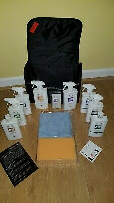 AUTOGLYM LIFESHINE KIT _*NEW* Polish Wax Upholstery Leather Wheels Protect Shine