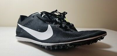 brand new 3513e e1b2a Nike Zoom Victory 3 Track Running Spikes Size 13 Black White 835997-017