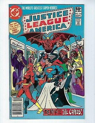 JUSTICE LEAGUE OF AMERICA # 194 (Cents Issue, SEPT 1981), VF-