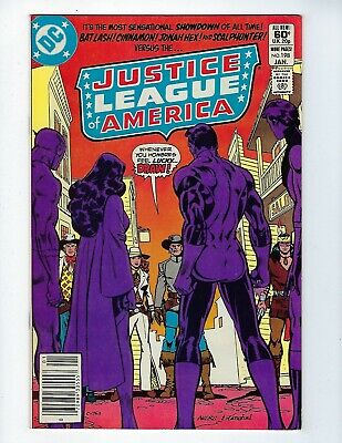 Justice League Of America # 198 (Jan 1982), Vf