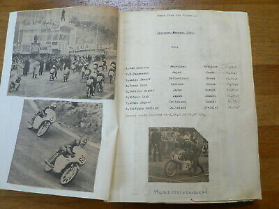 Moto Gp France Clermont, Le Mans, Scrapbook With Pictures And Results 1955-1978