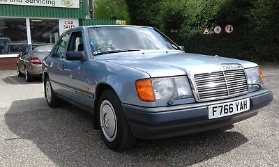 Mercedes Benz 230E W124 1988 Low mileage Diamond Blue FSH