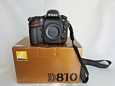 Nikon D810 Digital SLR Camera solo corpo - Body Only