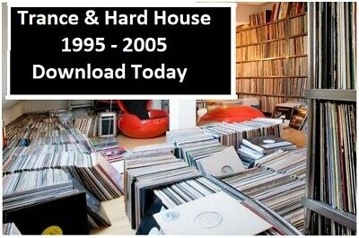 Trance & Hard House 1995 - 2005 Vinyl Record Collection Changed to MP3 Download