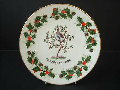 Royal Grafton Twelve Days Of Christmas A Partridge In A Pear Tree Plate