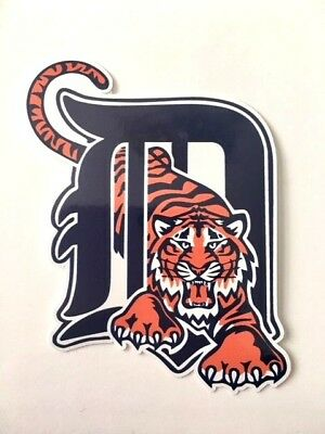 Detroit Tigers Fan Vinyl Sticker Decal *MANY SIZES* Bumper Cornhole Truck