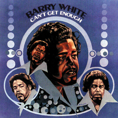 BARRY WHITE - Can't Get Enough (1974) Digitally remastered CD
