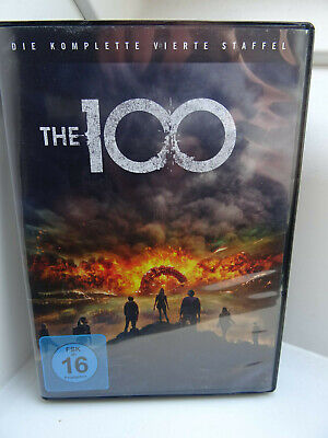DVD ** The 100 ** die komplette 4. Staffel - deutsch (3 Discs)