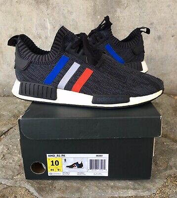 6a6a5d38e Adidas NMD R1 PK Originals Tri-Color Black Men s Shoes Size 10 With Box OG