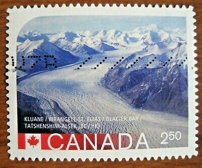 Canada 2015 #2849i UNESCO World Heritage Sites die cut used international value.