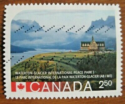 Canada 2015 #2848i UNESCO World Heritage Sites die cut used international value.