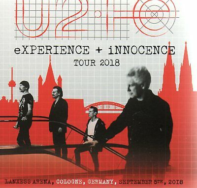 U2 - Experience+ Innocence Tour 2018 (Live Cologne) - 2Cd Digisleeve - Rare