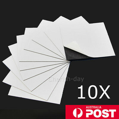 A4 Magnet Sheets Magnetic Self Adhesive 1.0mm Thickness Hand Crafts Material OZ