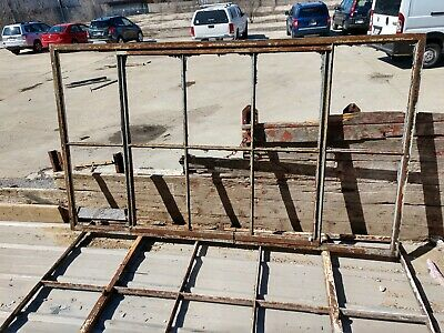 Reclaimed Vintage Industrial Factory Steel Casement Windows   type #1