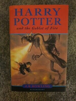 Harry Potter and the Goblet of Fire, Hardback First Edition in sleeve