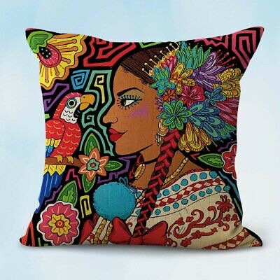 US Seller-throw pillow covers Mexican Art Spanish Latino cushion cover