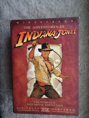 The Adventures of Indiana Jones The Complete DVD Movie Collection 4-Disc Box Set