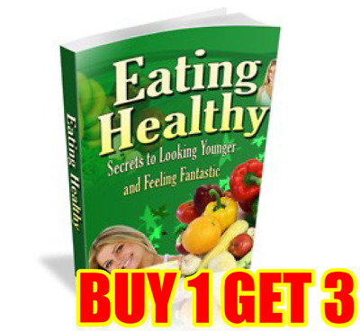 Ebook Eating Healthy Guide PDF with Resell Rights Free Shipping Bonus ebooks