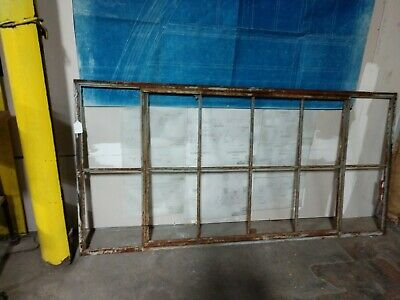Reclaimed Vintage Industrial Factory Steel Casement Window   type 3