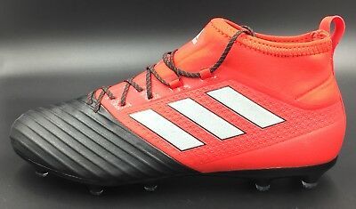 df08db72a Adidas Ace 17.2 Primemesh FG Cleats Black Red BB4324 Men's 9.5 Women's 10.5  New