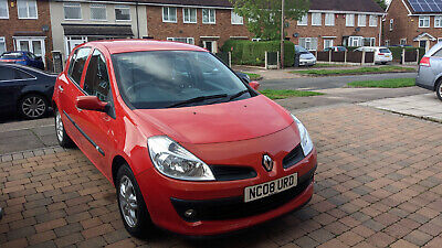 Renault Clio 1.2 16v 75 Expression RED