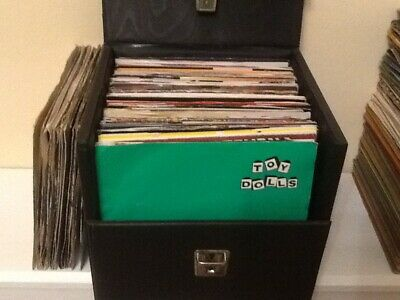 "Job lot of 88 picture cover vinyl 7"" singles records 45s 70s and 80s VG to Ex"