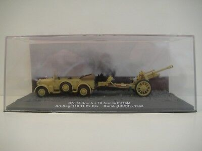 ALTAYA 1:72. Tank Tanque . Kfz.15 HORCH + 10,5 cm Ie FH18M.