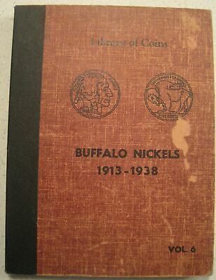 VERY NICE BUFFALO NICKEL SET (1913-1938)  - LIBRARY OF COINS ALBUM    03pp