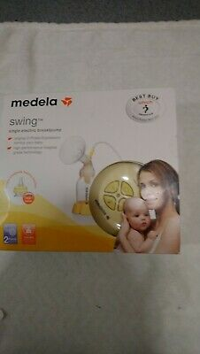 Medela swing single electric breast pump (Used Only Once)