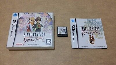 Final Fantasy Crystal Chronicles: Ring of Fates (Nintendo DS) European Version