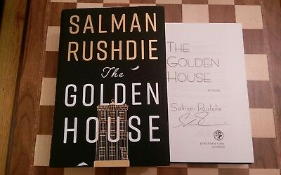 The Golden House SIGNED Salman Rushdie 1st edition 2nd impression hardback book