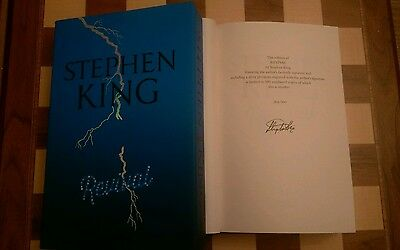 Revival Stephen King HB 2014 SLIPCASED NUMBERED LIMITED EDITION FACSIMILE SIGNED