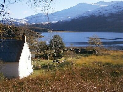 Offgrid seaside self catering holiday cottage for 2 Scotland 7 nts w/c April 20