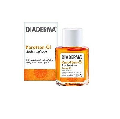 "2 x Diaderma. Carrot Oil. Face Care Natural  ""sun kissed"" tone BUY MORE PAY LESS"