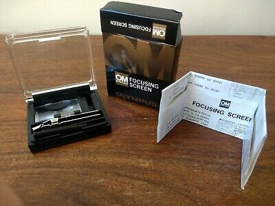 Olympus OM Focus Screen - 1-12 - Boxed + Acessories -  Mint