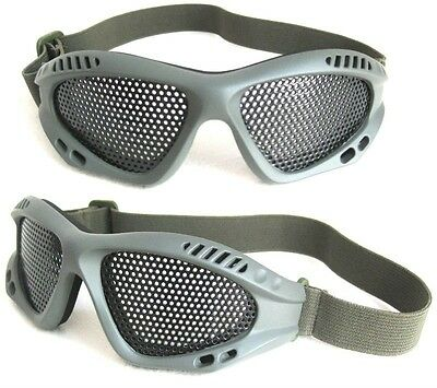 Airsoft Mesh Goggles Green