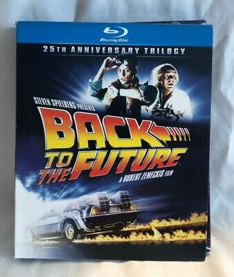 Back to the Future 25th anniversary trilogy blu-ray DVD's