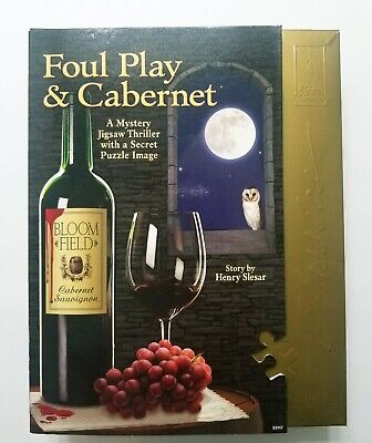 CLASSIC JIGSAW PUZZLES Mystery - Foul Play & Cabernet