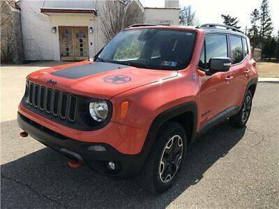 2016 Jeep Renegade Trailhawk 2016 Jeep Renegade Trailhawk Rearcam Low miles No Reserve
