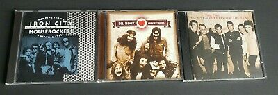 Dr. Hook, Iron City Houserockers, Huey Lewis Music 70s & 80s CDs